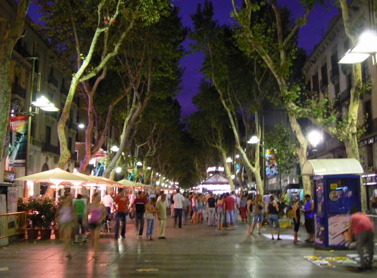 La rambla the best places to visit in barcelona spain - Calle boqueria barcelona ...