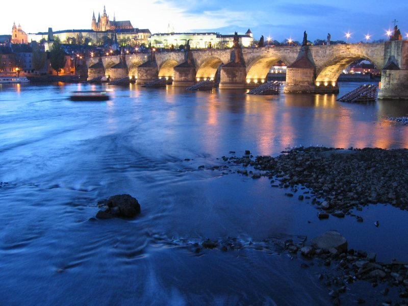 Charles Bridge - Charles Bridge view
