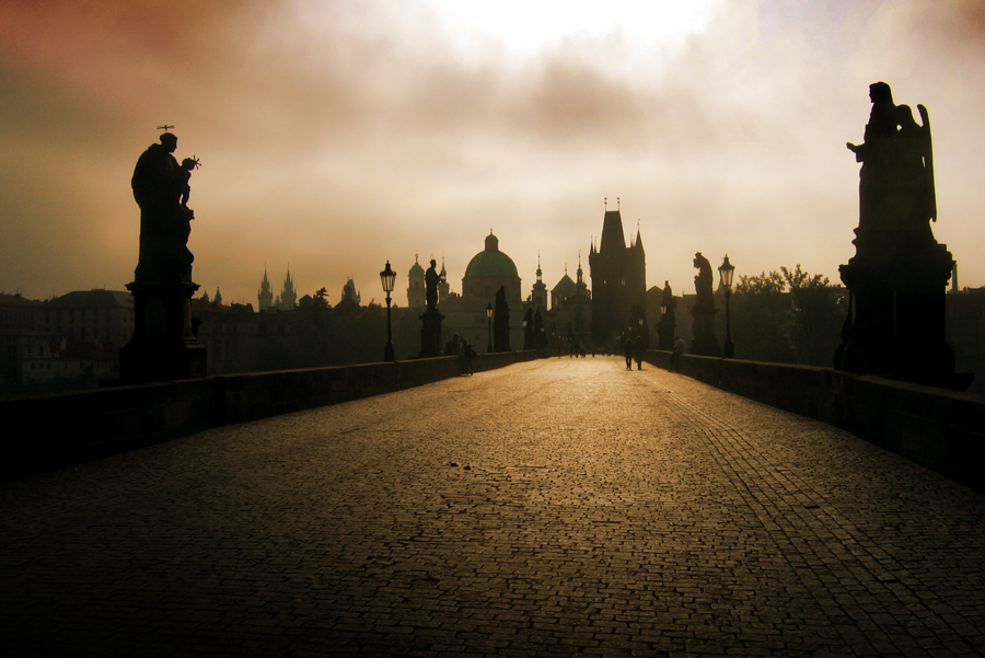 Charles Bridge - On Charles Bridge