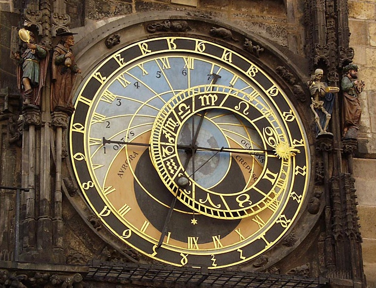 The City Hall and Prague Astronomical Clock - Prague Astronomical Clock