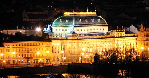 National Theater - National Theater view by night