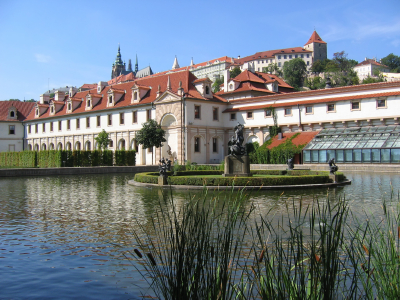 Wallenstein Palace and Gardens - View of Wallenstein Palace