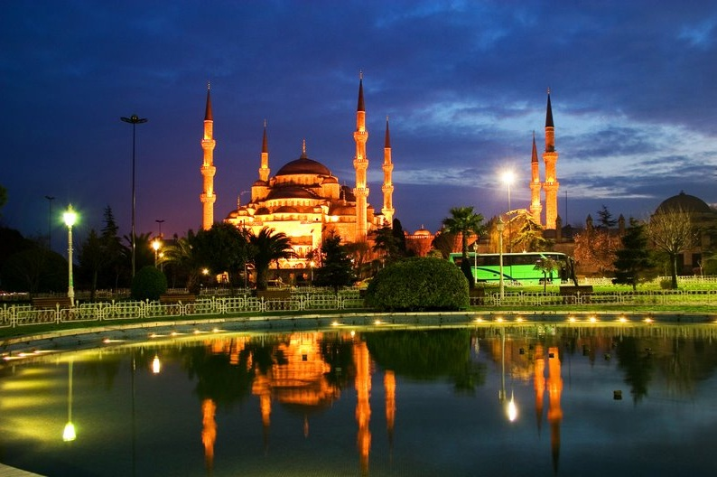 Blue Mosque  - Blue Mosque night view