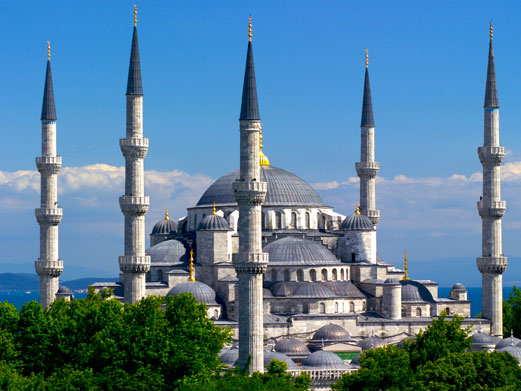 Blue Mosque  - Blue Mosque view