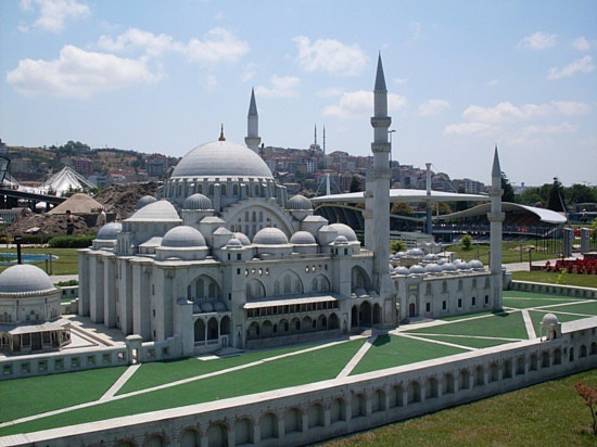 Miniaturk Park - Mini Blue Mosque
