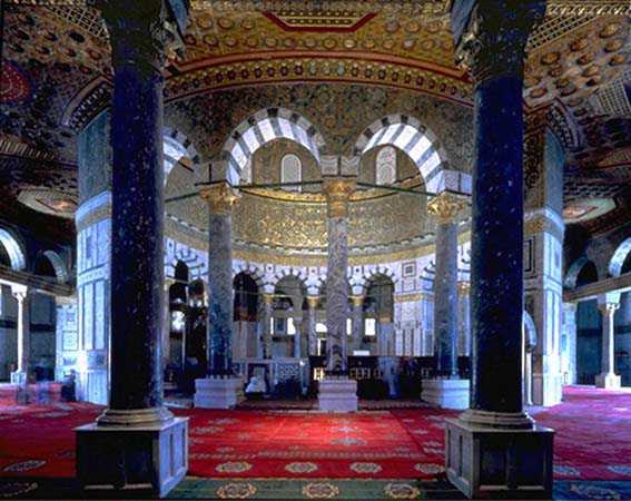 AlAqsa Mosque Interior