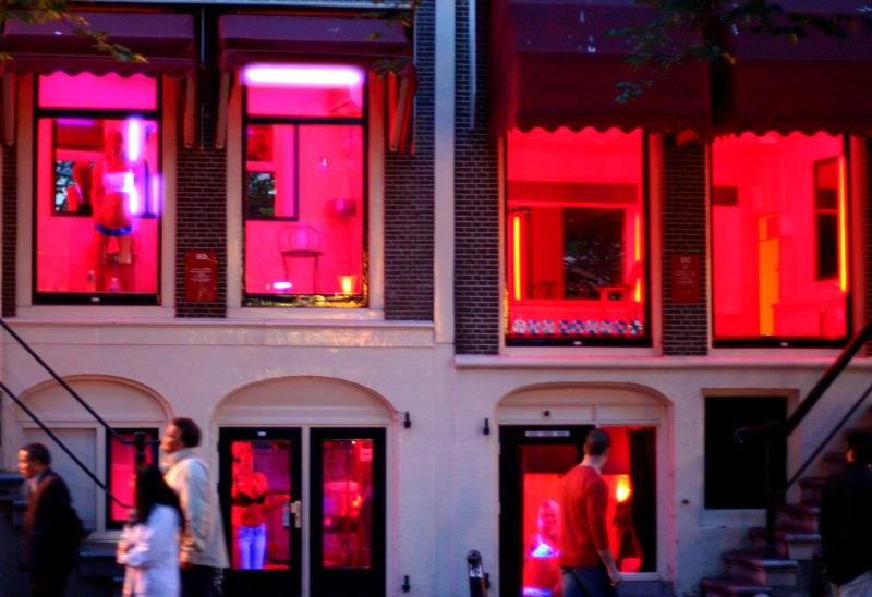 Red Light District - In the Red Light District