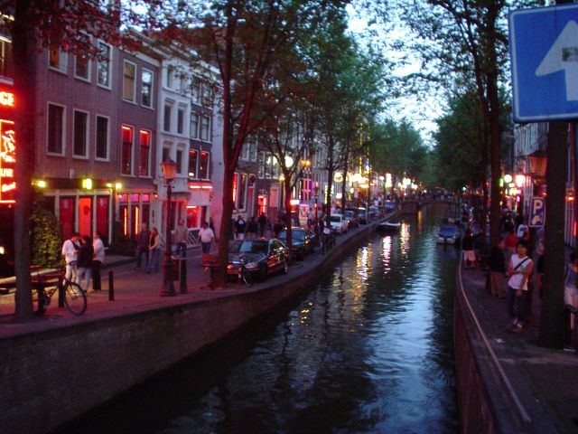 Red Light District - Red Light District view