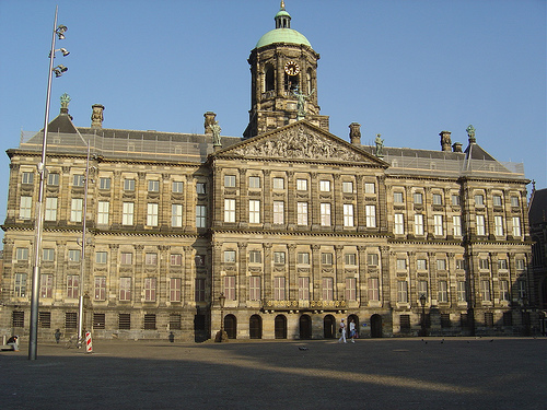 Royal palace the best places to visit in amsterdam netherlands royal palace general view of the royal palace publicscrutiny Choice Image