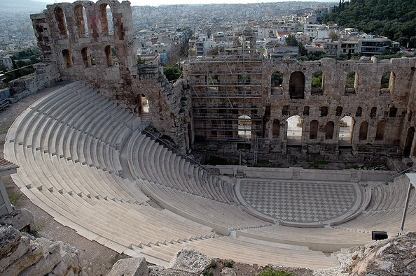 Dionysos Theatre - The best places to visit in Athens, Greece