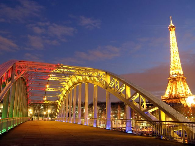 France - Eiffel Tower -the symbol of Paris