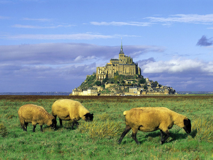 France - Mont Saint Michel view