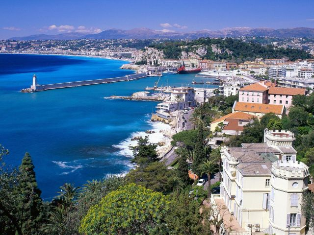 France - Nice general view