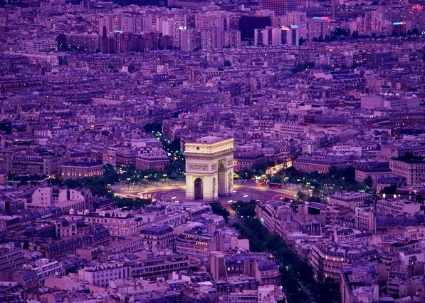 France - Paris aerial view
