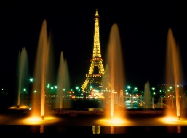 France - Paris view by night
