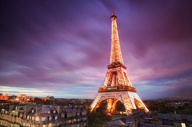 France - View of Tour Eiffel in Paris
