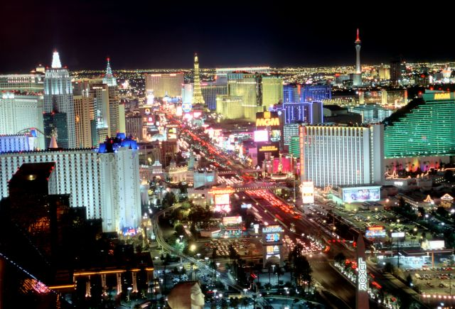 The United States of America  - City of Lights -Las Vegas