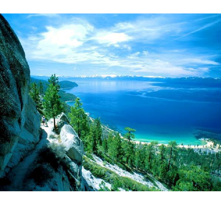 The United States of America  - Lovely view of Lake Tahoe in Nevada