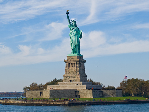 The United States of America  - Statue of Liberty