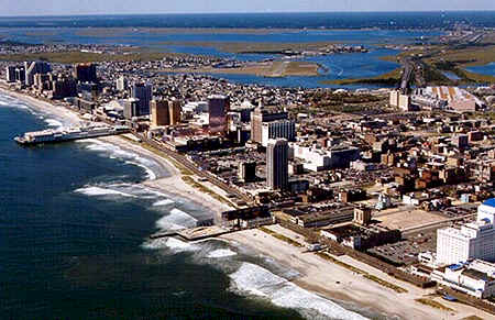 The United States of America  - The Atlantic City