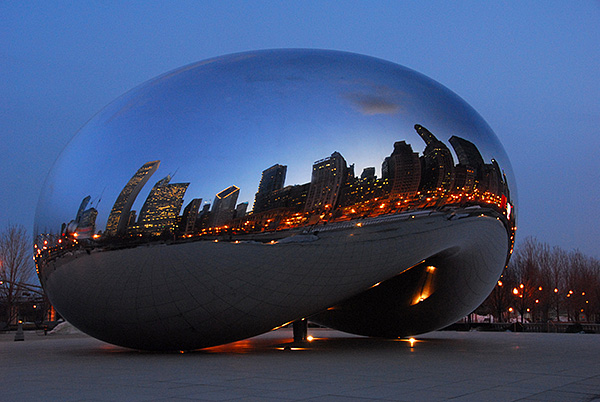 "The United States of America  - The ""Bean"" in Chicago"