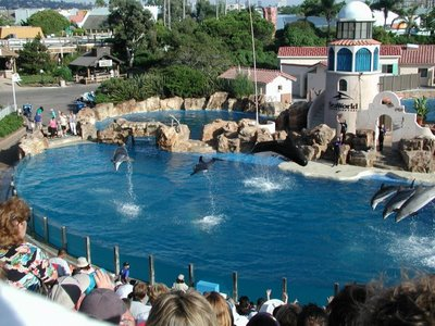 The United States of America  - The fun-filled Sea World Park in San Diego, California
