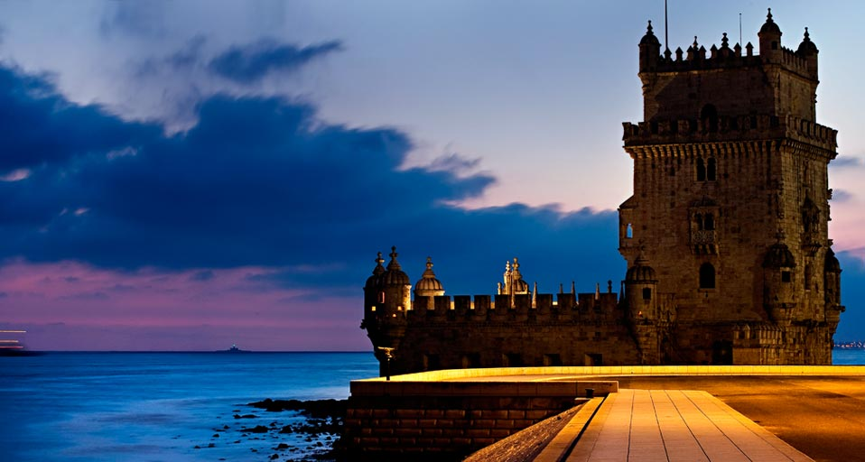 Tower of Belem - Belem Tower night view