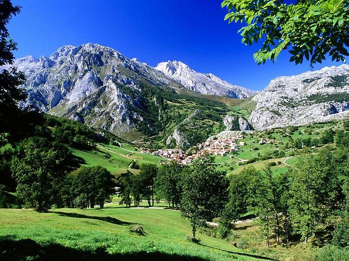 Spain - Panoramic landscape