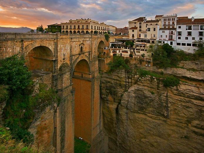 Spain - Ronda town view