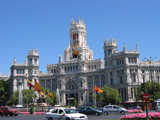 Spain - The beautiful city of Madrid