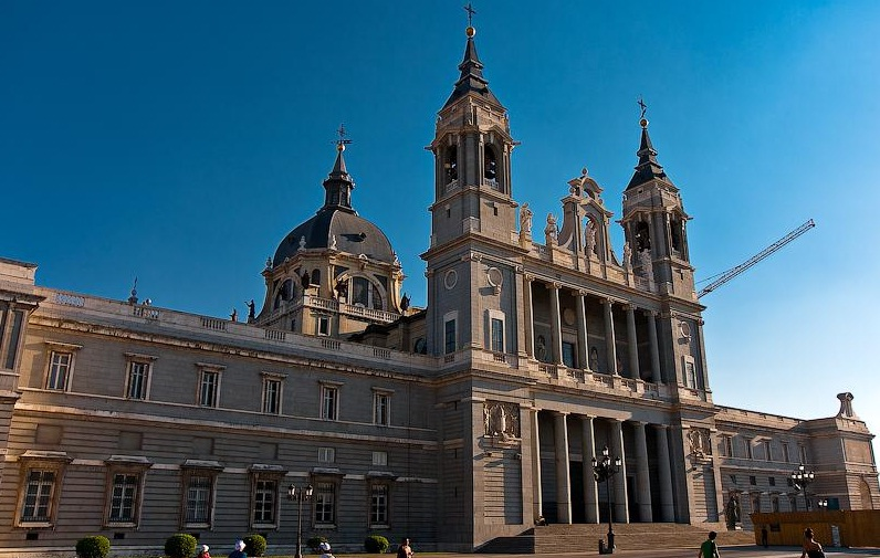 Almudena Cathedral - Cathedral general view