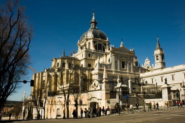 Almudena Cathedral - Cathedral view