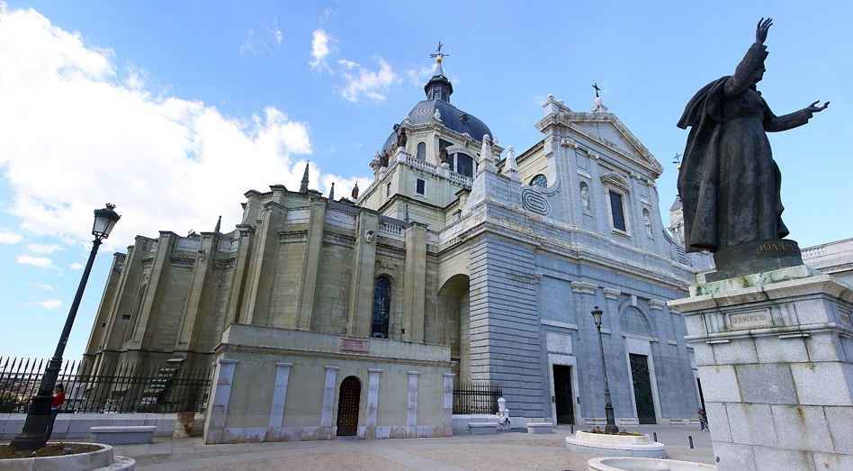 Almudena Cathedral - General view