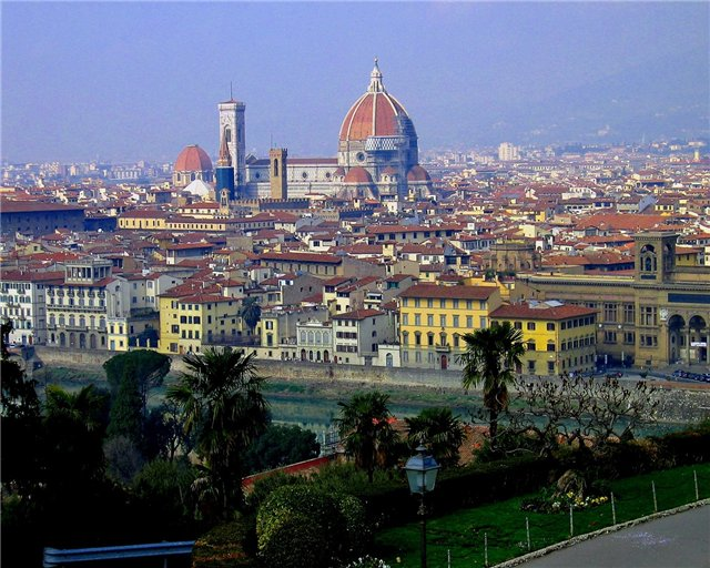 Italy  - General view of Florence
