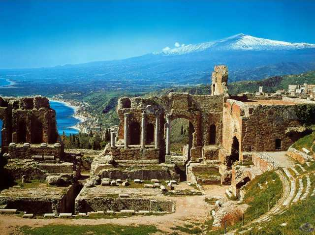 Italy  - General view of Sicily