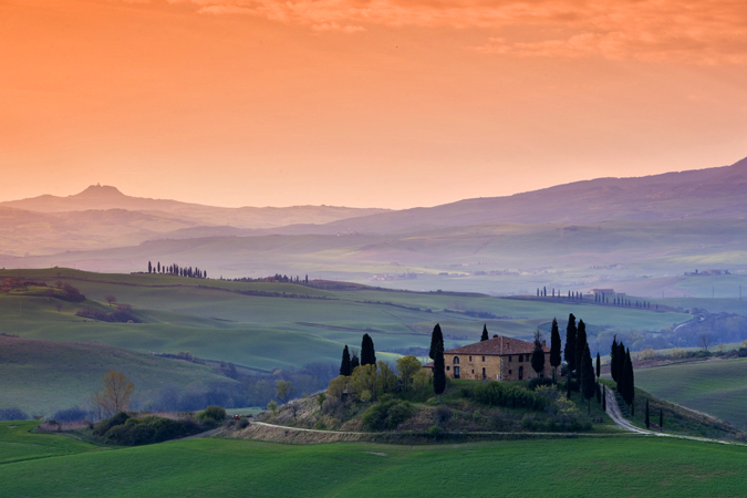 Italy  - The beautiful and renowned Tuscany