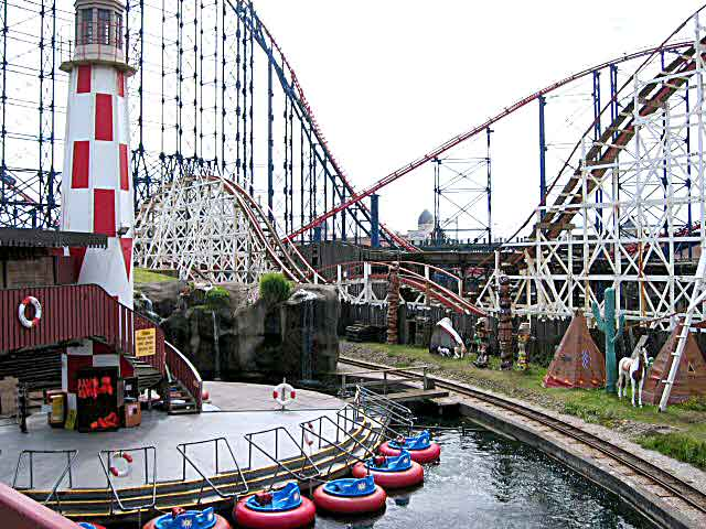 The United Kingdom - Blackpool Pleasure Beach
