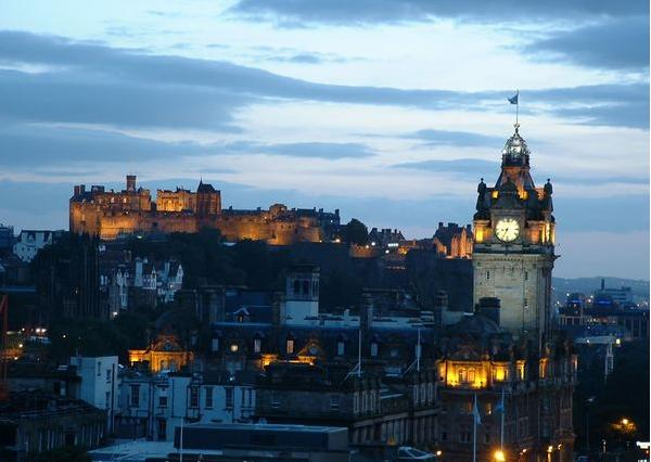 The United Kingdom - Edinburgh -general view