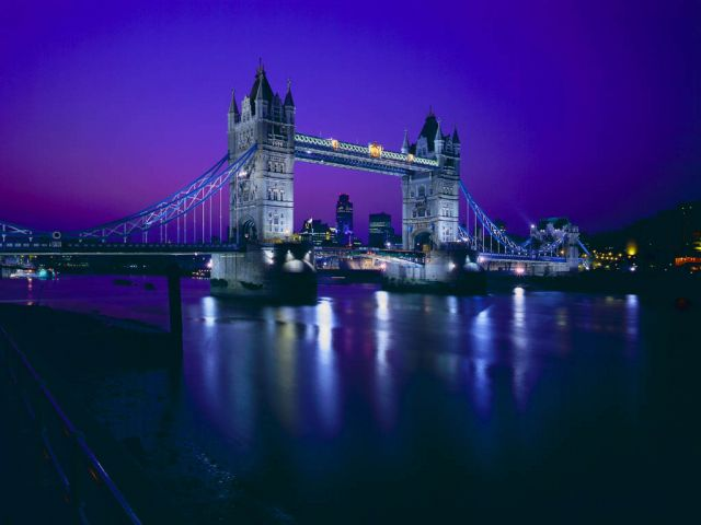 The United Kingdom - General view of the Tower Bridge