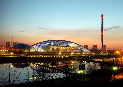 The United Kingdom - Glasgow Science Centre