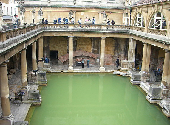 The United Kingdom - Roman Baths