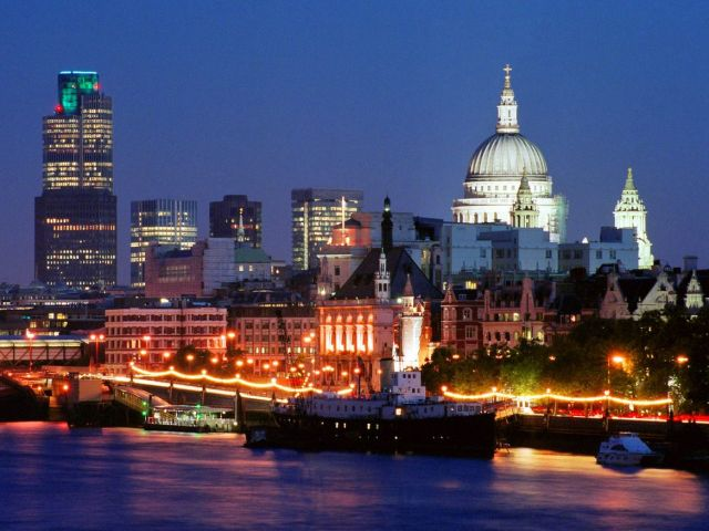 The United Kingdom - The Skyline of London