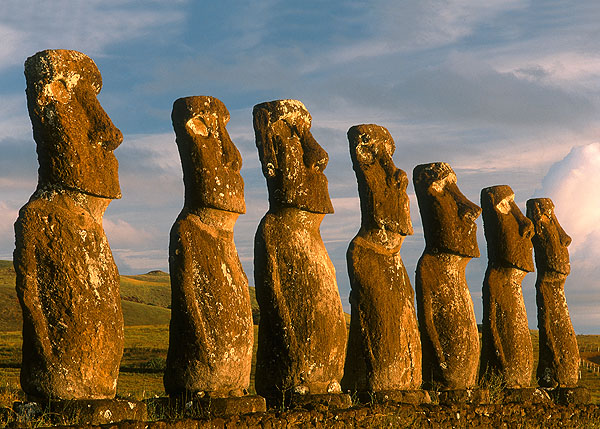 Easter Island - View on the Easter Island