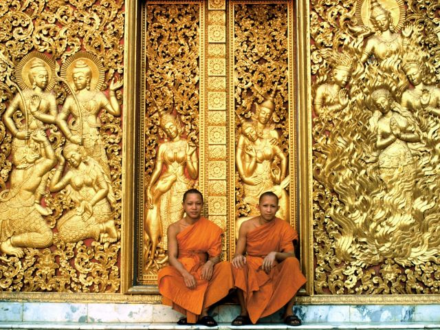 buddhism in laos Buddhism, which is participated in, by most laotians, gives a rhythm to their life as from first thing in the morning daytime, as we say here, (.