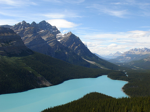 The Rockies - Peyto Lake