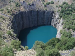 Kimberley Diamond Mine, South Africa