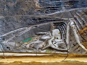 The Bingham Canyon Mine, Utah, USA