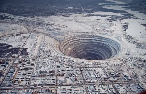 The Mirny Diamond Mine, Russia