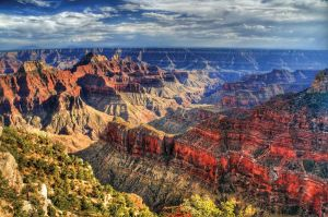 The Grand Canyon in Arizona, USA