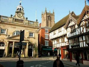 Ludlow in England